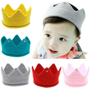 Newborn Photography Props Crown Baby Hairband Photography Accessories Hats Cap