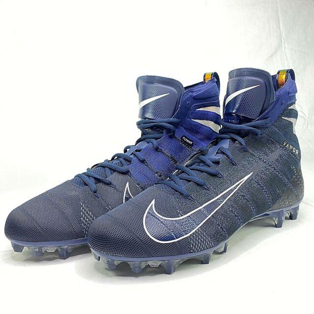 Nike Vapor Untouchable 3 Elite Flyknit Football Cleats Blue ...