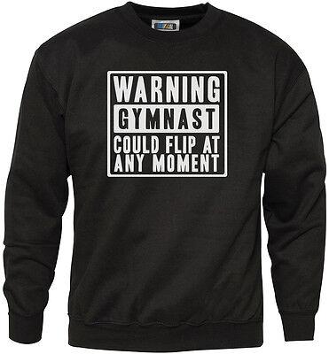Edward Sinclair Warning Gymnast May Flip At any Moment Hoodie!