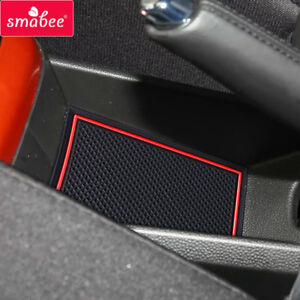Details about Gate slot pad For SUZUKI SWIFT 2017-2018 Accessories  Anti-Slip Mat RED WHITE
