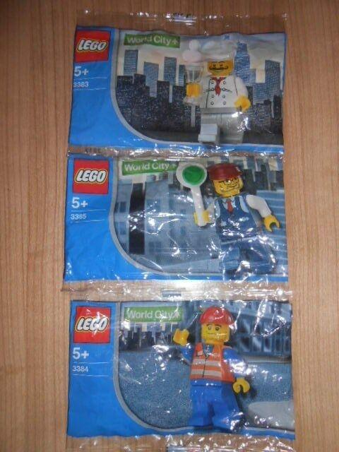 LEGO® WORLD CITY 3383 3384 3385 Polybags