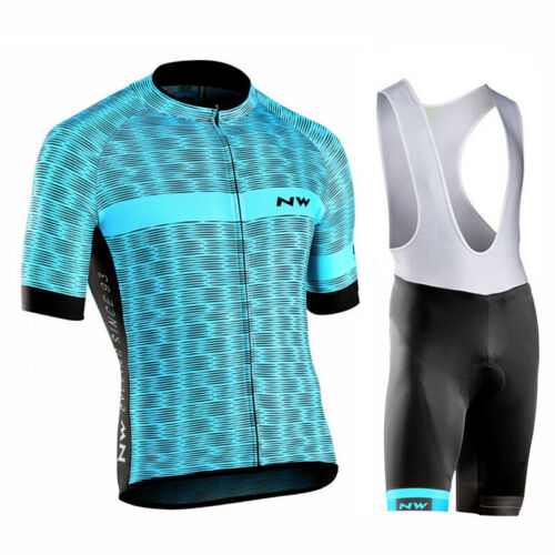 2019 mens team bike clothing summer cycling short sleeve Jersey bib shorts suits
