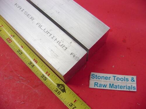 "2 Pieces 1-1//2/""x 1-1//2/"" ALUMINUM 6061 SQUARE BAR 36/"" long T6511 Flat Solid Stock"