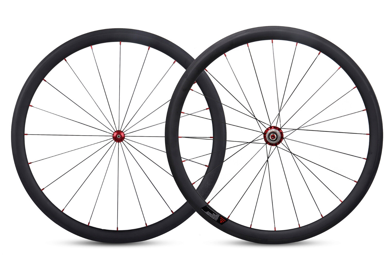 1355g 38mm Sapim Carbon Wheel Clincher Powerway R36 UD Matt  700C Road Bike 23mm  official quality