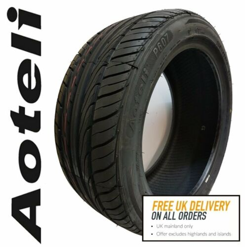2x 255//35 R20 97W XL Aoteli P607 UHP Car Tyres B rated wet grip