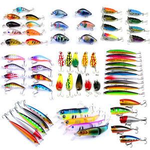 Lot-Kinds-of-Fishing-Lures-Crankbaits-Hooks-Minnow-Baits-Tackle-Crank-Set-Tools