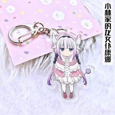 Anime Miss Kobayashi's Dragon Maid Kanna Keychain Key Ring Pendants Collection