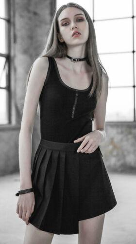 Asymmetrisch Gefaltet Rock Gothic Punk Lolita Japan Schülerin Stilvoll PunkRave