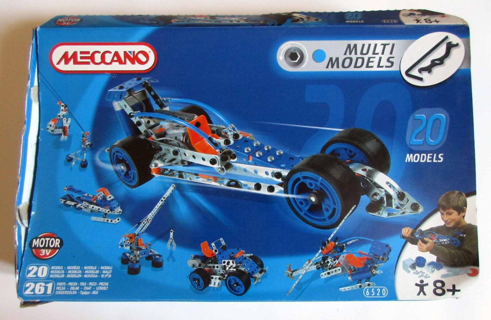 MECCANO - Multi Models 20 - Complet + Boite + Notice