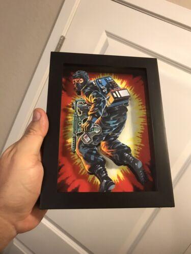 Firefly 3D Art classées série Gi Joe Figure Pop Art Cobra