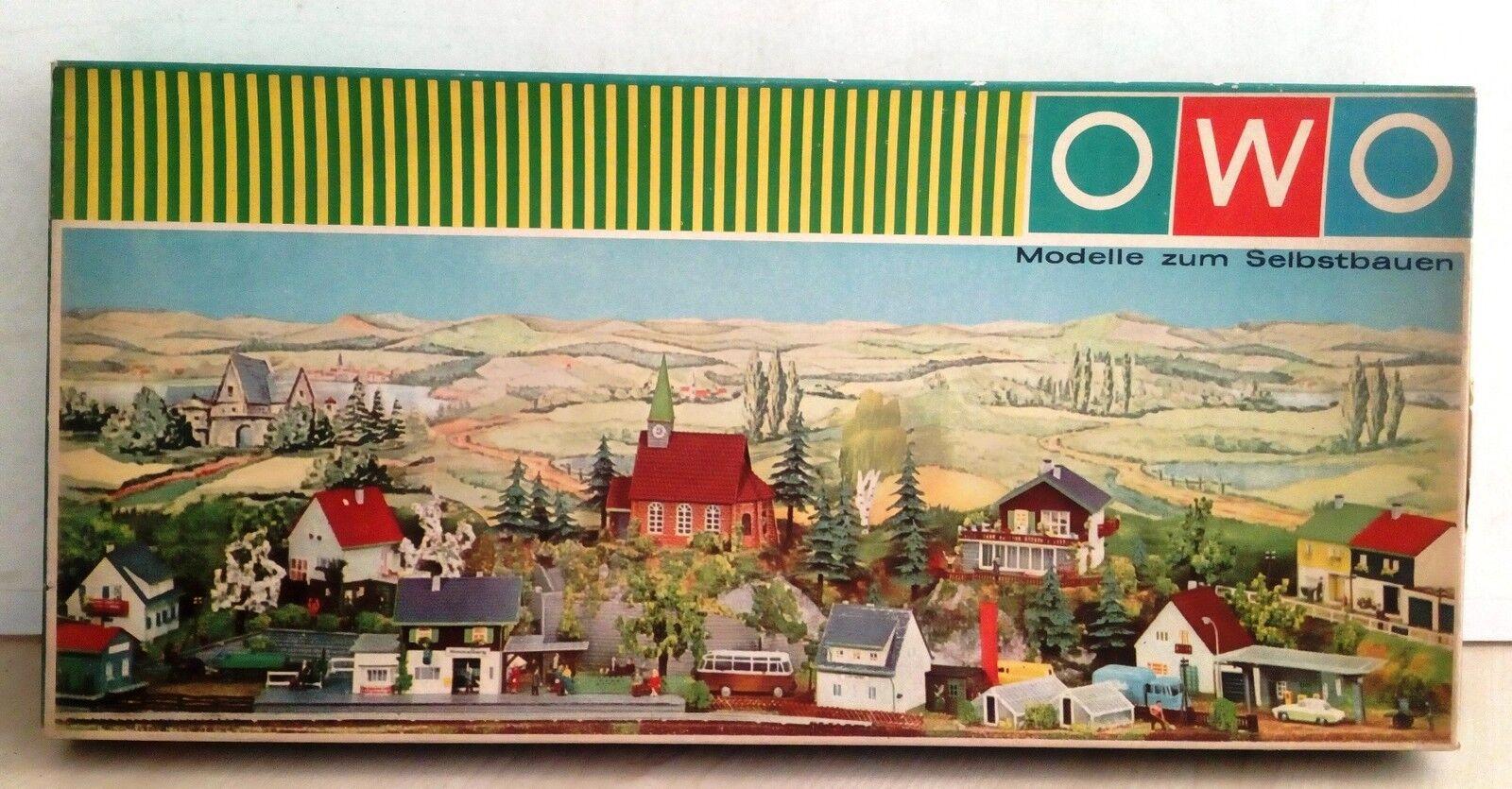 66389 Kit di montaggio OWO nr. 9622 129-1807 - Diorama Stazione BHF. SCHLOßERG