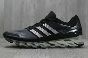 2df97ad4d7 Image is loading 35-New-Adidas-Springblade-Black-Running-Shoes-G66648-