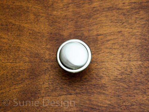 Pack of 10 Elegant Modern Polished Chrome Kitchen Cabinet Pull Knob