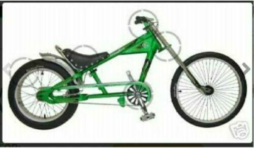 Schwinn Chopper 80cc Gas Motor Kit ENGINE FOR A OCC  STINGRAY Green BIKE BICYCLE