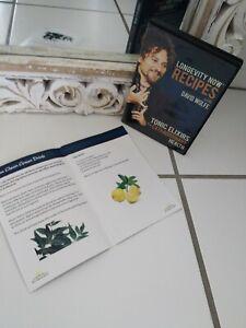 Longevity Now Recipes With David Wolfe Dvd Booklet Ebay