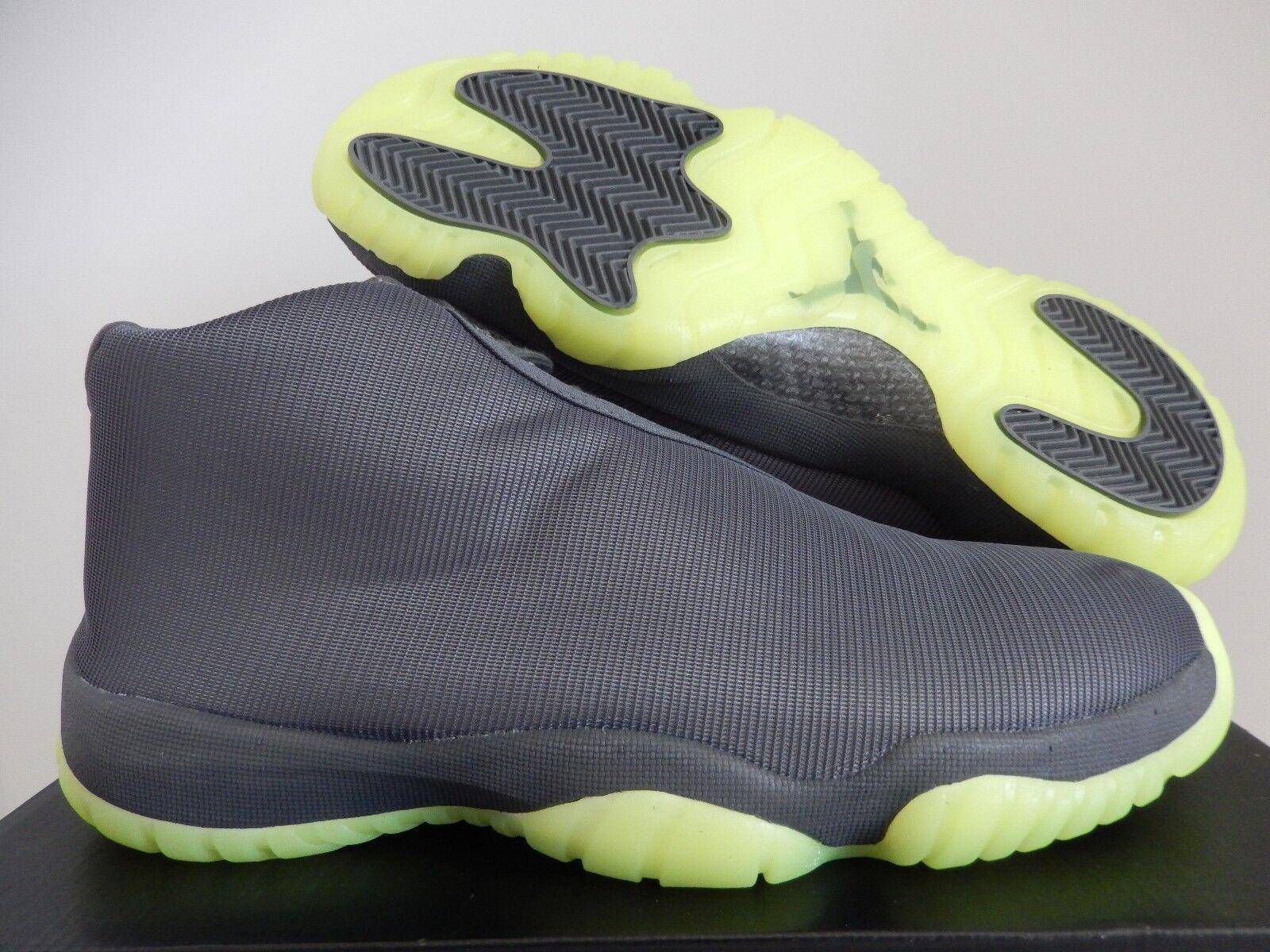 Nike air jordan futuro footscape buio grey-dark grey-dark grey-dark grey-volt sz 11 [656503-025] 61cac4