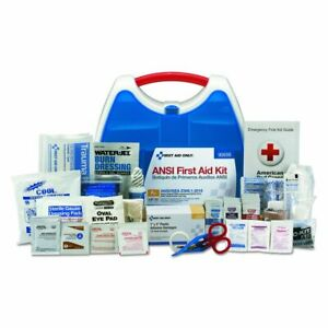 First Aid Only 90698 Large Plastic ReadyCare Kit 2015 ANSI A+ Compliant, White