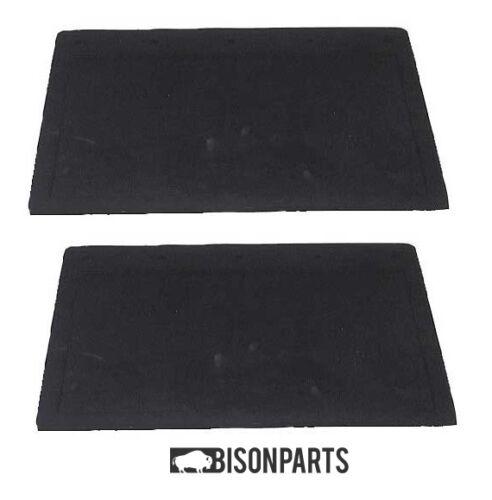 "PLAIN BLACK X 1 PAIR HINO TRUCK RUBBER MUDFLAP 18/"" X 12/"" 406 X 305MM"