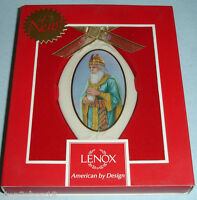 Thomas Blackshear Ebony Visions Ornament The Wise Man With Myrrh By Lenox
