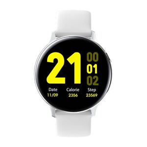 Premium-Smartwatch-S20-Bluetooth-Uhr-Rundes-Display-fuer-Android-iOS-Wasserdicht