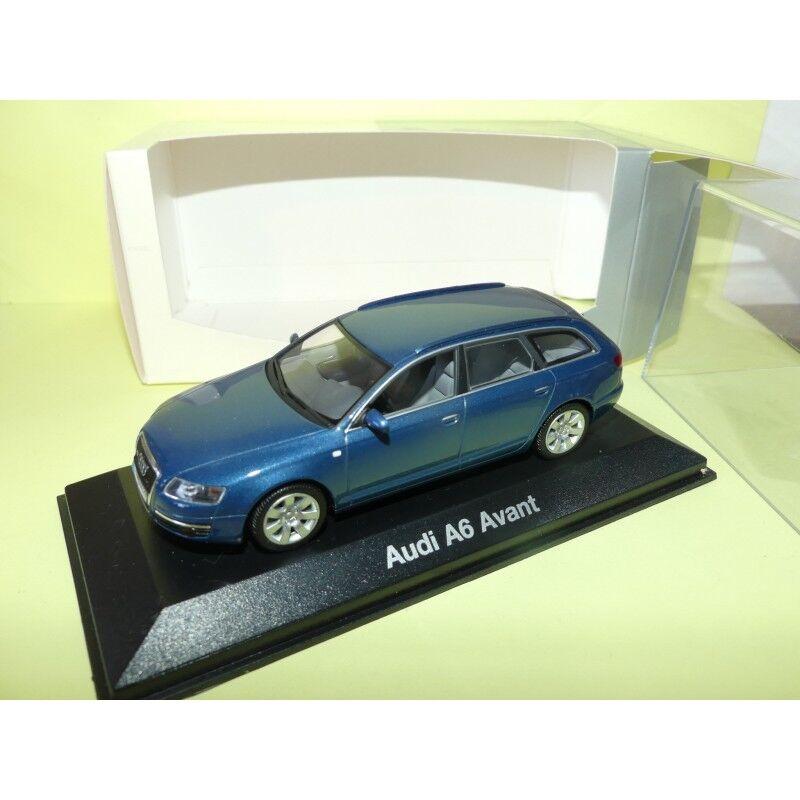 AUDI A6 AVANT C6 3.2 Quattro blue Startosblue MINICHAMPS 1 43
