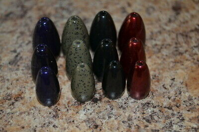 ILLINOIS OWNED! JIG SHACK TUNGSTEN FLIPPING WEIGHTS  5 EACH 1oz AND 1.5 oz