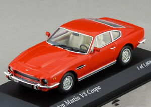 Scale-model-1-43-Aston-Martin-V8-COUPE-red-1980