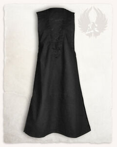 sale retailer 63536 82290 Details zu Lenora ärmellose Tunika canvas schwarz XL Larp Mittelalter  Reenactment (E#00339)