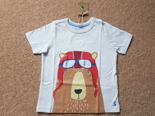 Joules Bear T-shirt BNWT Âge 3,5 et 6 ans disponible