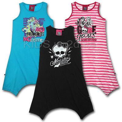 Monster High Kleid ★ Mädchen Sommerkleid Zipfelkleid ★ 128 140 152 164 ★ Tunika   eBay