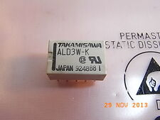 ALD3W-K AL-D3W-K 1A 30VDC bistabil Relais Coil 3V 2xUM 2xWechsler Takamisawa