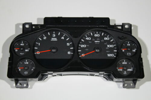 07 OEM GM BASE TRIM SILVERADO SIERRA WHOLE REPLACEMENT CLUSTER 4-SPEED ONLY 7G