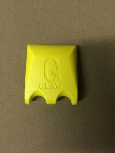 Q Claw 2 Cue Pool Cue Holder Yellow QClaw holds 2 Cues w// FREE Shipping