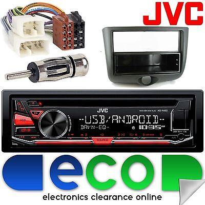 Toyota Yaris 1999 - 2003 JVC CD MP3 USB Aux Android Car Radio Stereo  Fitting Kit | eBay