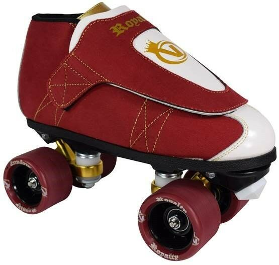 Royalty Jam Skates - Quad Roller Skate - Rythmn Skating - Men & Damens - Vanilla