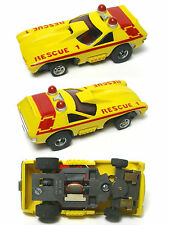 1976 Aurora AFX G+ G-PLUS RAPID RESCUE HO Slot Car Screecher Magna-steering 5782