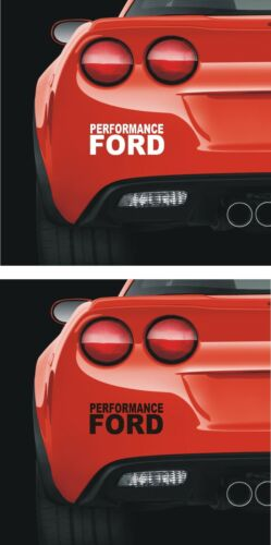 FORD 140mm   PANEL WINDOW Stickers   Performance