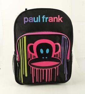 special-Paul-Frank-Big-KRNK-Face-Large-Backpack-for-boys-girls-kids-School-Bag