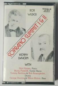 Soprano Summit 1 & 2 Cassette Tape World Jazz Records