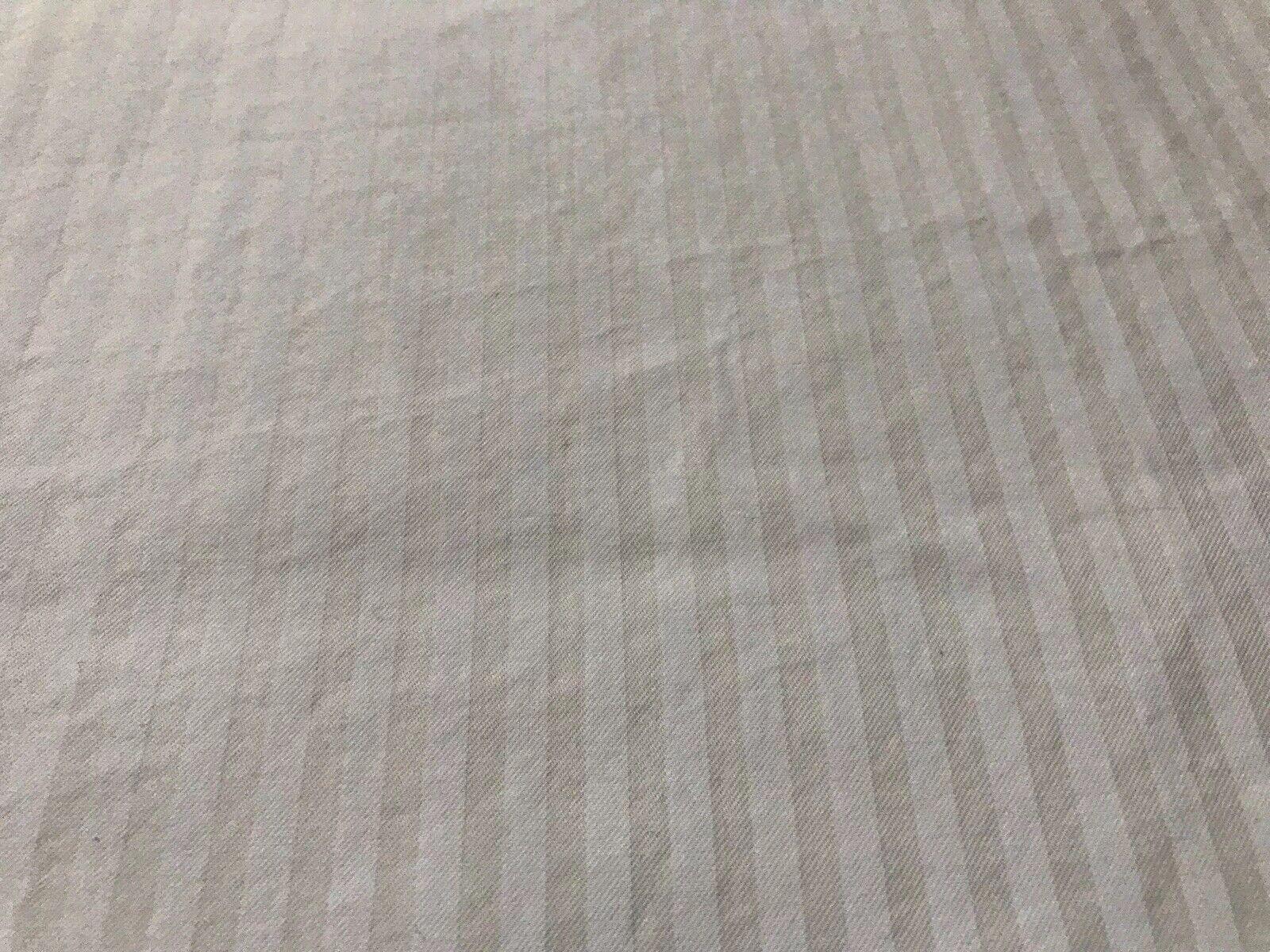 Charisma By Fieldcrest Vintage Full Queen Duvet Cover Light Lines Supima Cotton