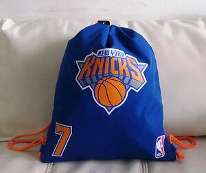 NBA SACCA ZAINO TEMPO LIBERO NEW YORK KNICKS 7 CARTORAMA - Italia - NBA  SACCA ZAINO 323f15dbb381