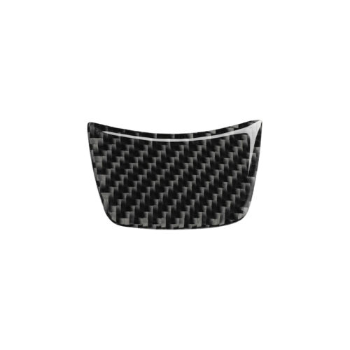 Carbon Fiber Interior Steering Wheel Sticker Trim Cover For Audi A3 S3 2014-2019