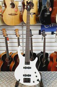 2012-Epiphone-Tobias-Toby-Standard-IV-Alpine-White-4-String-Electric-Bass-Guitar
