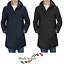 Giubbotto-Uomo-Parka-Invernale-Cappotto-Elegante-Impermeabile-Nero-Casual miniatura 1