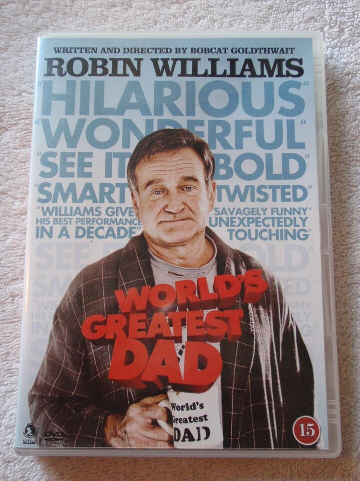 World's Greatest DAD, DVD, komedie