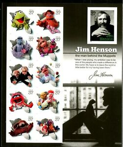 Jim Henson and the Muppets Full MNH Sheet Scott's 3944 CRISP!