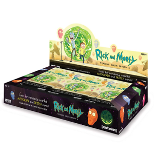RICK-amp-MORTY-SEASON-2-CARDS-HOBBY-SEALED-BOX-CRYPTOZOIC