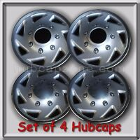 4 16 1995-2002 Ford Truck 4x4 F-350 Hubcaps, Wheel Covers 4wd Free Shipping