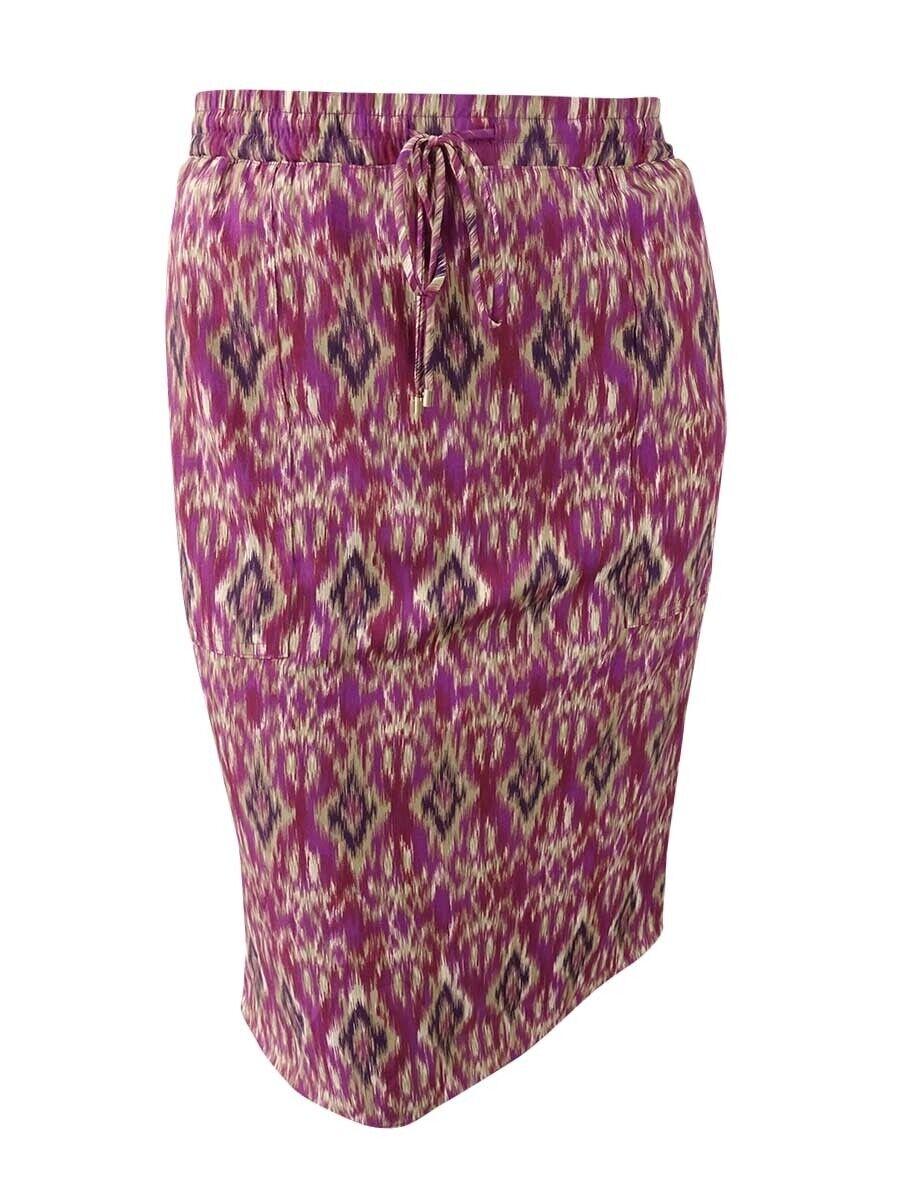 Lauren Ralph Lauren Women's Printed Elastic Waist Skirt