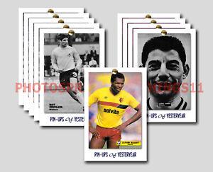 WATFORD 10 CARDS VINTAGE PIN UPS Football Postcard Set # 2